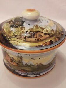 Ceramica Maiolica di Castelli Abruzzo TE  ORIGINALE De Fabritiis