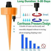 50 100X Einstellbares 8Loch Tropf Tropfbewässerungsanlage Durchfluss Sprinkler