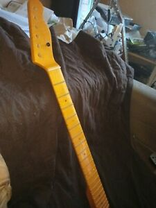 Telecaster Neck Flame Maple