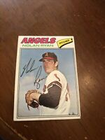 1977 Topps Nolan Ryan California Angels #650 Baseball Card Nice Card!!!!