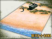 4X2 1:32 Diorama Mat D-DAY BEACH for King Country FIRST LEGION Figarti Conte WW2
