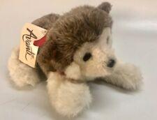 Avanti 1983 Wallace Berrie Alaskan Husky Dog Puppy Plush Stuffed 12� No. 965