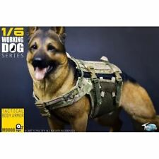 1:6 Custom Tactical Body Armor Clothing for Working Dogs Toys City