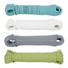 Heavy Duty Steel Core Strong Clothes Washing Line Wire Rope Laundry Dryer 15 25M