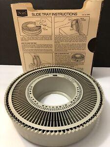 Vintage Sears Easi-Load Circular Slide Tray, Holds 100  2 x 2 Slides