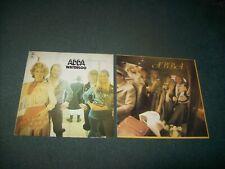 Job lot of 7 ABBA LPs Waterloo, ABBA, The Album, Voulez-Vous, The Visitors etc.