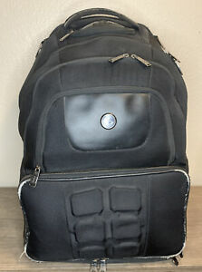 6 Six Pack Fitness Elite Voyager 500 Gym Backpack Meal Prep System No Containers
