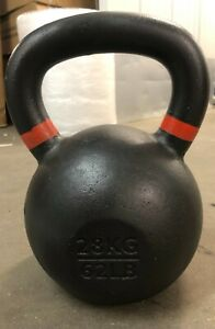 Kettlebell 28kg Cast Iron Gym Training Weights Home Fitness Heavy