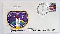US ASTRONAUT Jerry M Linenger signed SPACE SHUTTLE STS-84/ATLANTIS envelope