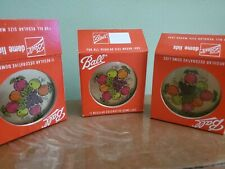 Lot Of 3 Packs Vintage Ball Decorative Dome Lids