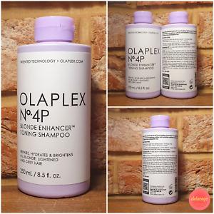 OLAPLEX No.4P Blonde Enhancer Toning Shampoo (250ml) - 3x BRIGHTER & REPAIR HAIR