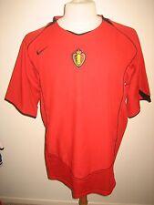 Belgium KBVB home Belgie football shirt soccer jersey voetbal maillot size XL