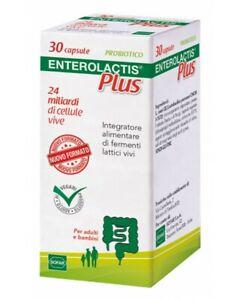 enterolactis PLUS 30 CAPSULE fermenti lattici  24 miliardi
