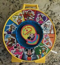 Vintage 1980s Mattel Wonderful World of Color See N Say Pull String Toy 10 Sound