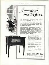 1925 Hart Collins Bessborough Street Spinet 3-4 Valve Model