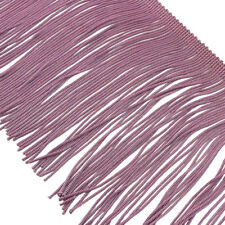 """CLEARANCE! 4"""" Light Amethyst Polyester Chainette Fringe Trim  BTY"""