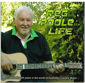 """REG POOLE Brand New CD """"life""""-  Aussie COUNTRY"""