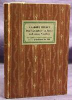 Insel-Bücherei Nr. 338 Der Statthalter von Judaä & andere Novellen um 1930 sf