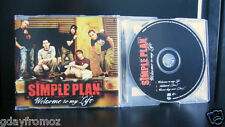 Simple Plan - Welcome To My Life 3 Track CD Single