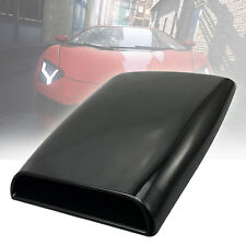 Universal Car Auto Truck Decorate Air Flow Intake Hood Scoop Vent Cover Black US