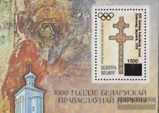 Weißrussland Bloque 2 (completa.edición.) nuevo con goma original 1994 Olimpia