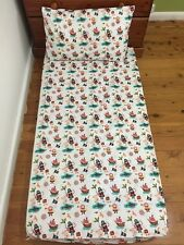 New White PIRATES Baby Cot Fitted Sheet + Pillowcase