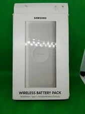Samsung Original Portable 10000 mAh Wireless Fast Charge Dual Port Battery USB-C