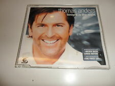 Cd   Tonight Is the Night  von Thomas Anders