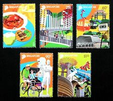 Singapore Stamp 2014 50 Years of Tourism Full Set MNH 旅游