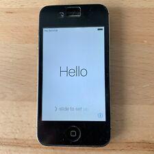 Apple iPhone 4S A1387 - Black - 8GB Working - ATT (GSM)