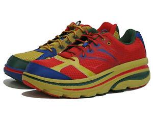 New HOKA ONE ONE Men's X EG Bondi B Running Sneaker Shoes, Multicolor