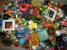 GLASPERLEN MIX/PERLEN MIX 1kg BUNTE PERLEN/LAMPWORK/GLASWACHSPERLEN/CRACKLE USW.