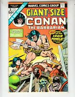 Giant Size Conan The Barbarian 3 F+ (6.5) 4/75 Barrie Windsor Smith artwork!