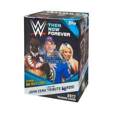 2017 Topps WWE Wrestling Then Now and Forever 10ct Blaster Box