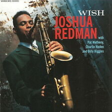 Joshua Redman Wish (Pat Metheny, Billy Higgins) 1993 Warner Bros CD