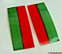 SWITCH LENS TAPE  RED & GREEN AMERICAN FLYER S Gauge can do 1 pair