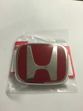 Honda Civic Type-R FK2 EMBLEM REAR H Red Genuine OEM 2012-16 Badge Type R NEW E