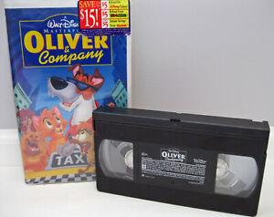 Oliver & Company VHS Walt Disney Masterpiece Video Tape Movie Full Length G