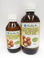 Certified Organic MACADAMIA NUT OIL Australian Cold Pressed ~ Premium Grade