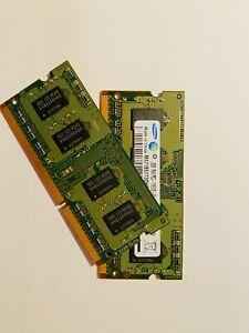 Samsung 2GB (x 2) memory 1Rx8 PC3-10600S-09-11-B2 (M471B5773DH0-CH9)