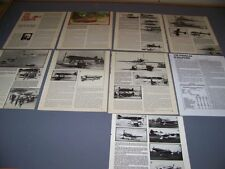 VINTAGE..AERO MACCHI RACERS 1921-1931..HISTORY/PHOTOS/VARIANTS..RARE! (915F)