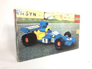 Lego Vintage Hobby Set Formula 1 392 (1975) Pre-Owned