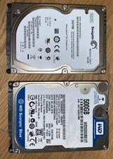 Lot of 2 500GB 2.5
