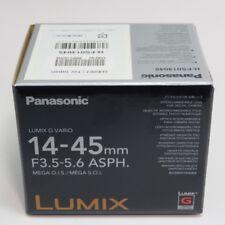 1 Panasonic Lente H-FS014045 LUMIX G VARIO 14-45mm/F3.5-5.6 Asférica./MEGA O.I.S.
