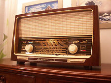 ANTICA_RADIO Greatz Musica 617 Tube Radio Tuberadio Restored TOP!