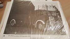 Trolleybus TV 4955 Black & White Photo number 145 ebay uk