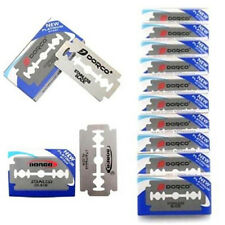 FD3389 Dorco Stainless Steel Double Edge Shaving Razor Blades Platinum ~10PCS~♫