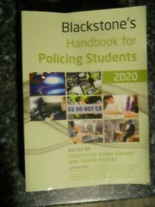 Blackstone's Handbook for Policing Students 2020 by Kevin Lawton-Barrett,...
