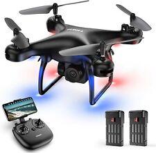 Tomzon WIFI FPV Drohne mit HD Kamera Selfie RC Quadrocopter Drone Spielzeug