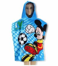 Mickey Mouse Bath Poncho Towels for Children